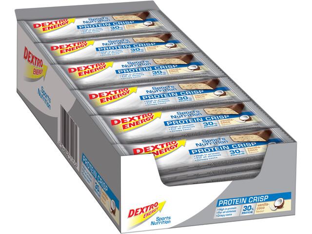 Dextro Energy Potein Crisp - Nutrition sport - Vanilla-Cocos 24 x 50g
